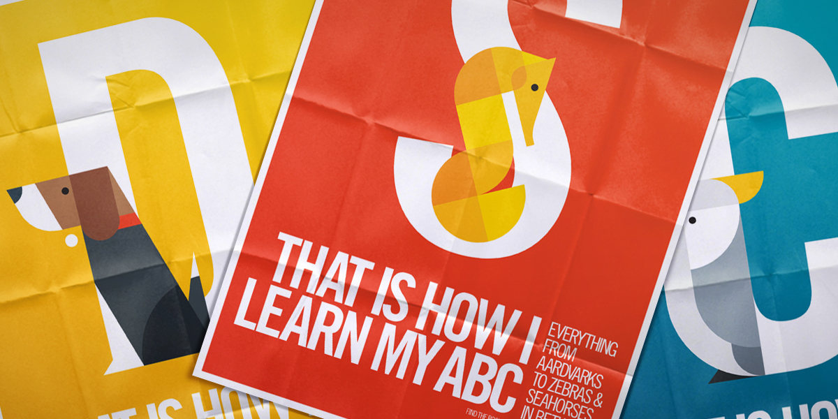 ABC Header - That is how I learn my ABC
