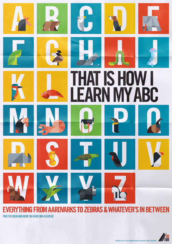 ABC Image 03 - That is how I learn my ABC