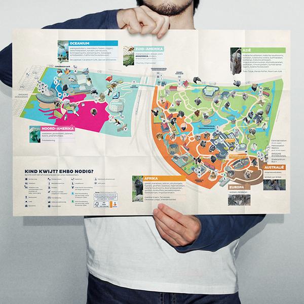 Map Image 04 - Rotterdam Zoo Map