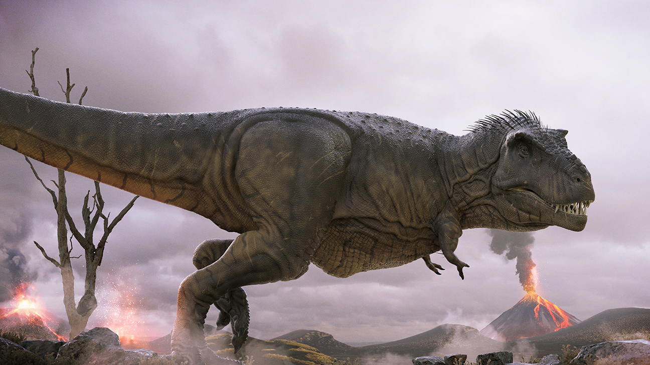 Render 02 - Dinosaur illustrations