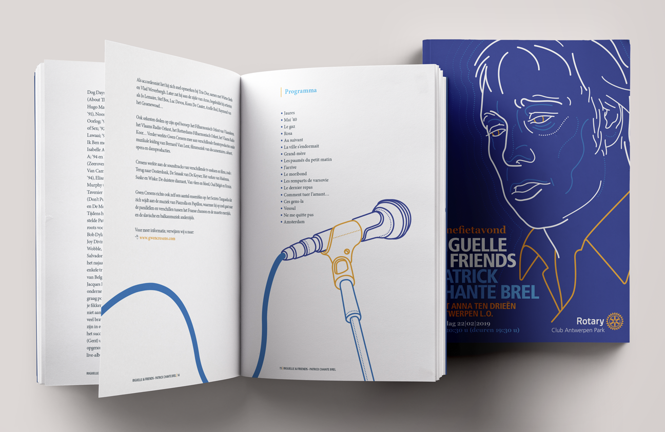 Booklet - Rotary event material