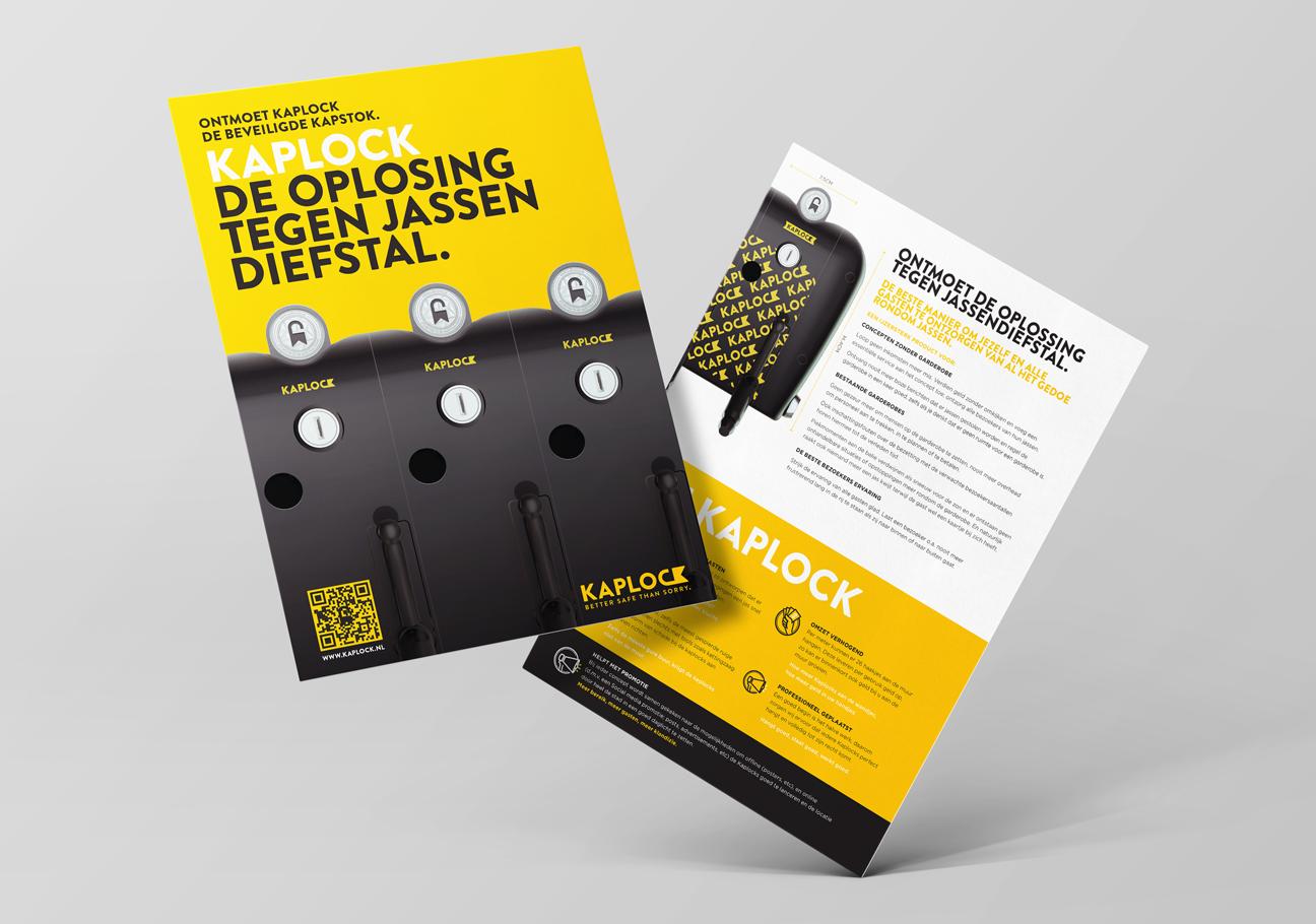 Kaplock Leaflet - Kaplock identity