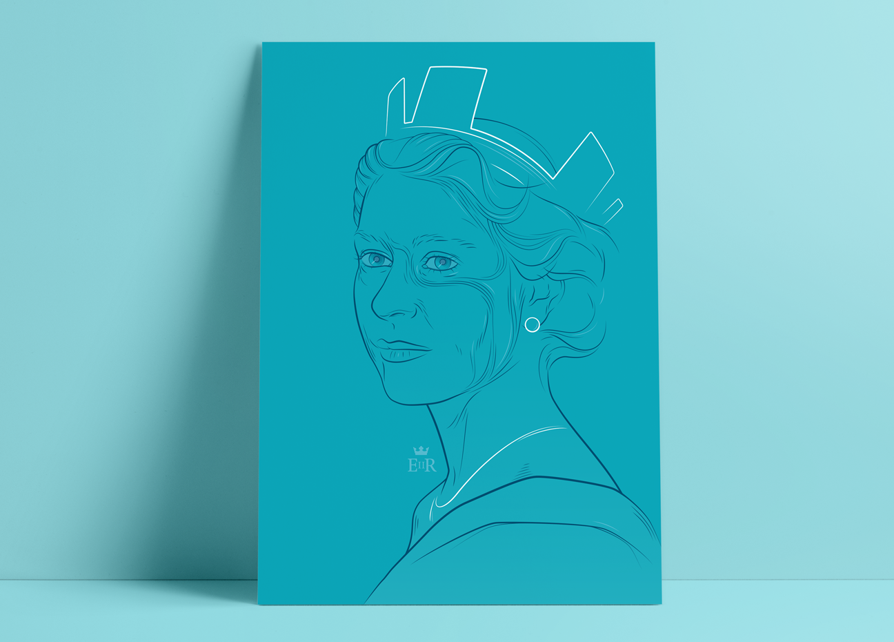Queen Print - Portrait series