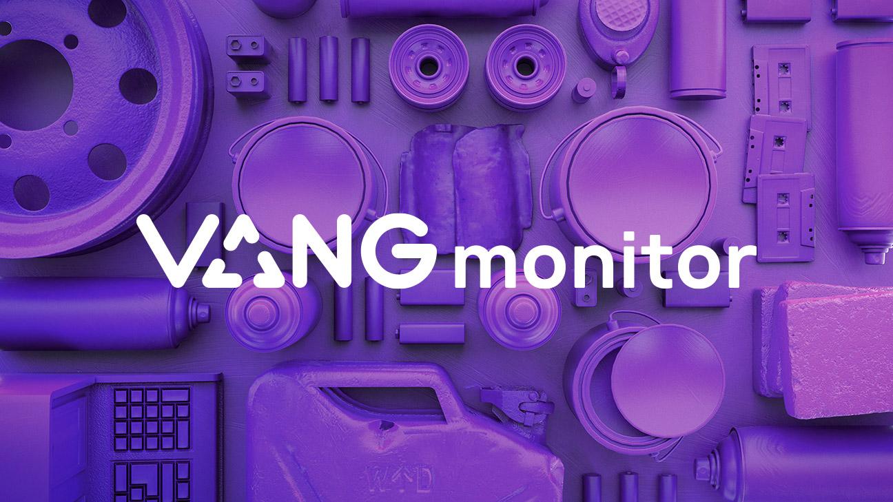 Vang Monitor Logo - Vang Identity