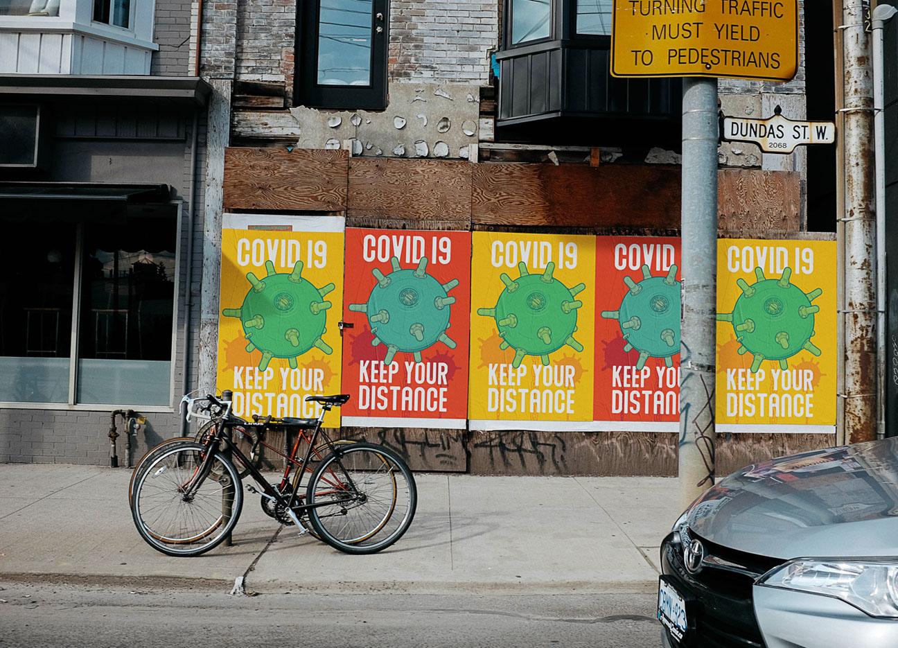 Virus Posters V01 - Covid 19 Poster
