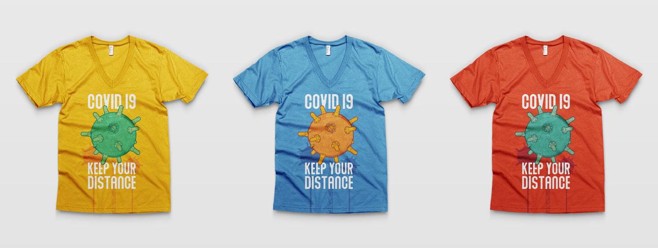 Virus V02 - Covid 19 Poster