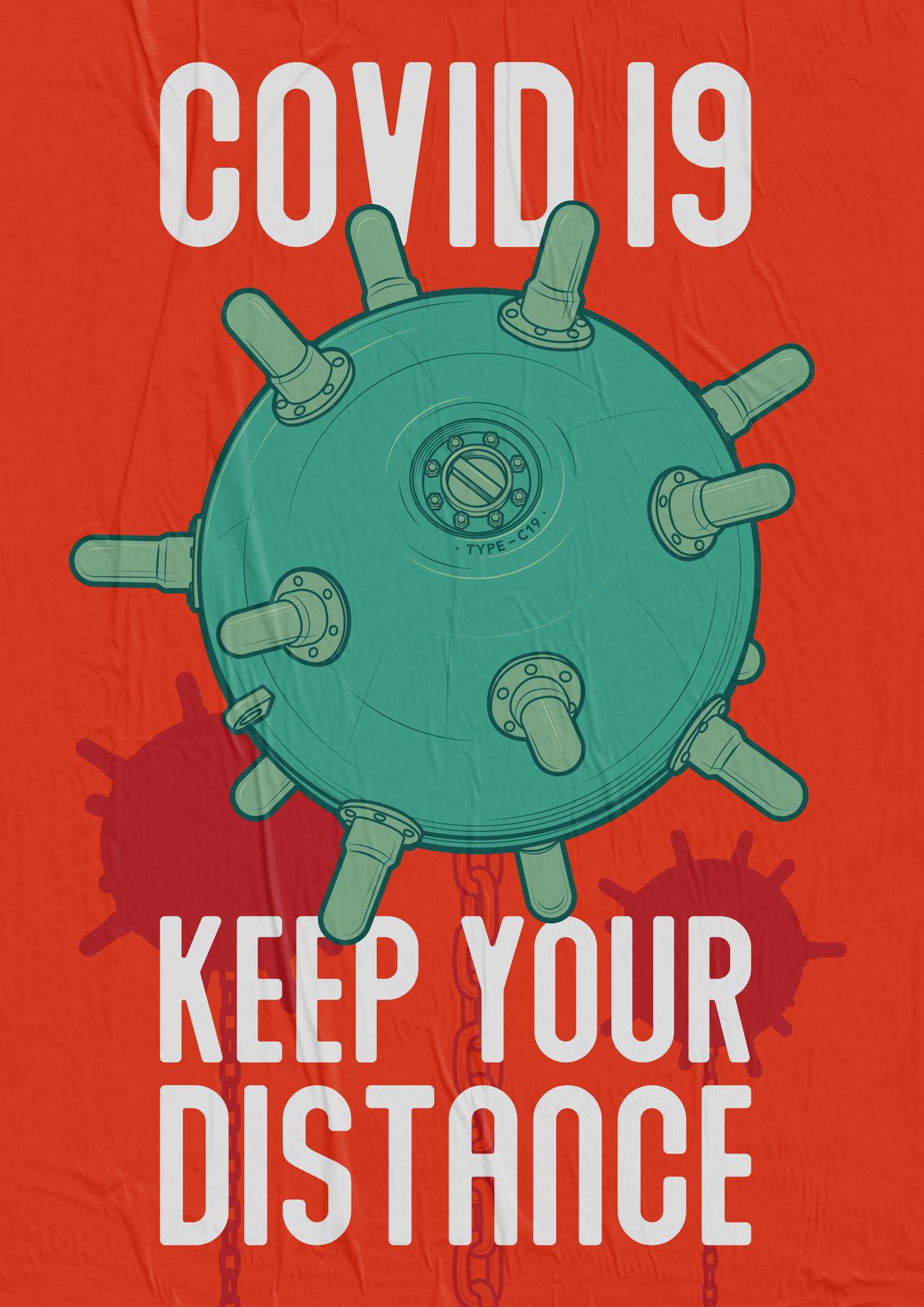 Virus Posters V02 - Covid 19 Poster