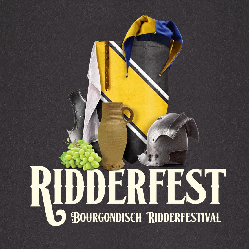 Ridderfest Eventlogo - preHistorisch Dorp