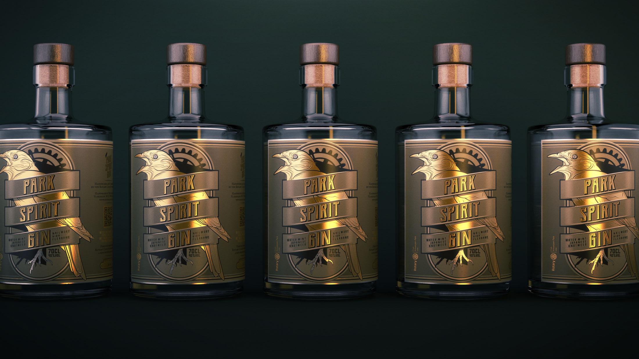 ParkSpiritGin V01 - Park Spirit Gin