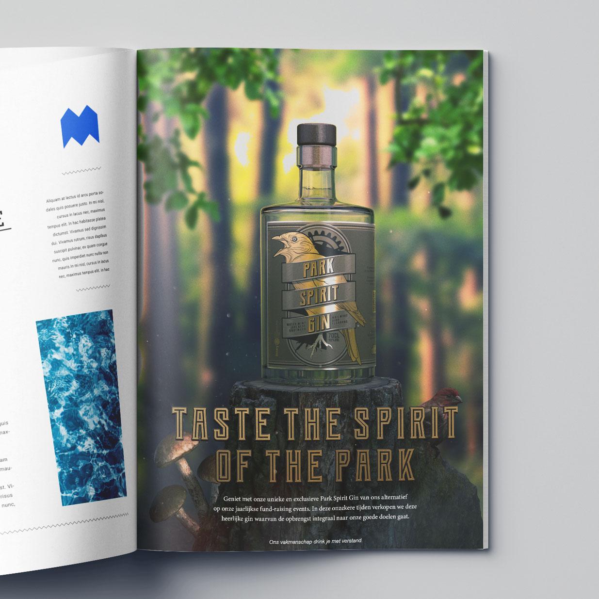 ParkSpiritGin V07 - Park Spirit Gin