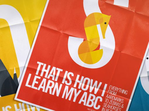 That is how I learn my ABC