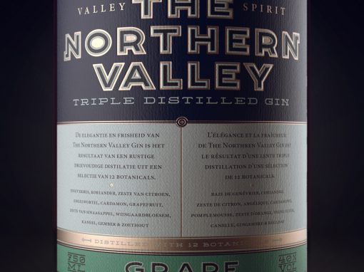 The Northern Valley Gin Label
